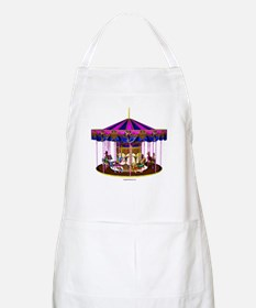 The Pink Carousel Apron