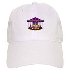 The Pink Carousel Baseball Cap