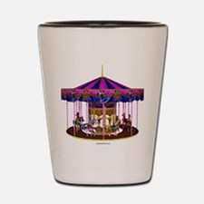 The Pink Carousel Shot Glass