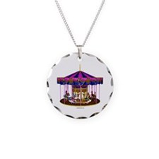 The Pink Carousel Necklace