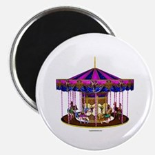 "The Pink Carousel 2.25"" Magnet (100 pack)"