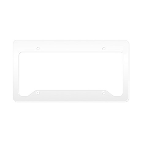 Red Wakeboard Nose Press License Plate Holder