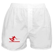 Red Wakeboard Nose Press Boxer Shorts