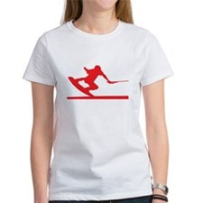 Red Wakeboard Nose Press Tee