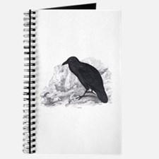 Black Raven Bird Journal