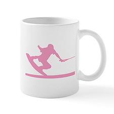 Pink Wakeboard Nose Press Mug