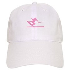 Pink Wakeboard Nose Press Baseball Cap