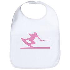 Pink Wakeboard Nose Press Bib