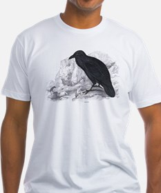 Black Raven Bird (Front) Shirt