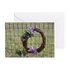 Vine Wreath Greeting Card