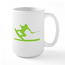 Green Wakeboard Nose Press Mug