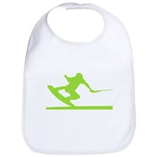 Green Wakeboard Nose Press Bib