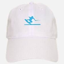 Blue Wakeboard Nose Press Baseball Baseball Cap