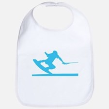 Blue Wakeboard Nose Press Bib