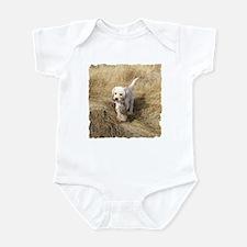 LAB PUPPYS FIRST HUNT Infant Bodysuit