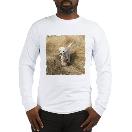 LAB PUPPYS FIRST HUNT Long Sleeve T-Shirt