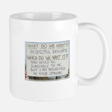 Respectful Discourse Mug