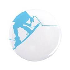"Blue Wakeboard Back Spin 3.5"" Button"