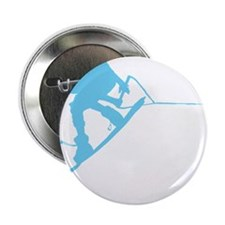 """Blue Wakeboard Back Spin 2.25"""" Button"""