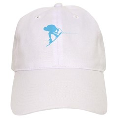 Blue Wakeboard Back Spin Baseball Cap