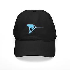 Blue Wakeboard Back Spin Black Cap