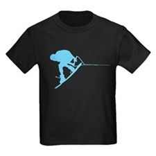 Blue Wakeboard Back Spin T