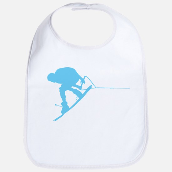 Blue Wakeboard Back Spin Bib