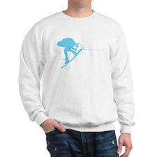 Blue Wakeboard Back Spin Sweatshirt