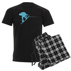 Blue Wakeboard Back Spin Pajamas