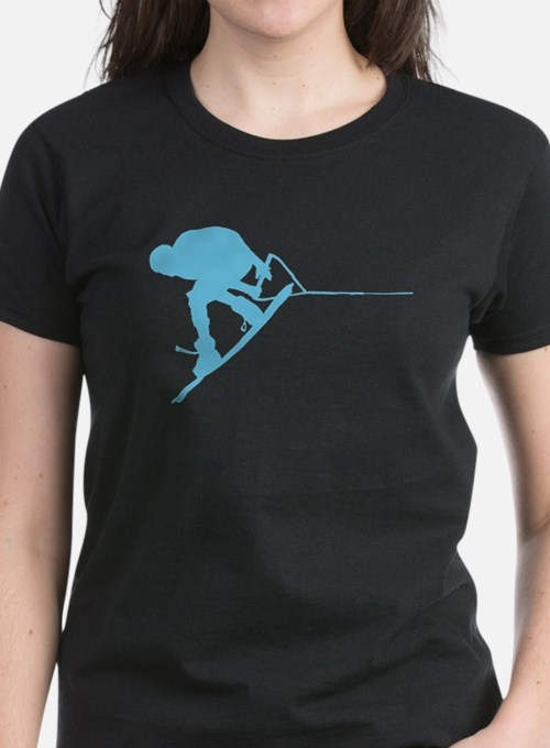 Blue Wakeboard Back Spin Tee