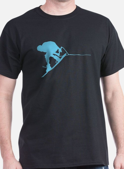 Blue Wakeboard Back Spin T-Shirt