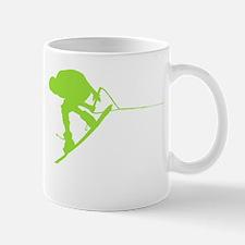 Green Wakeboard Back Spin Mug