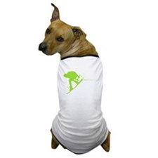 Green Wakeboard Back Spin Dog T-Shirt