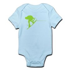 Green Wakeboard Back Spin Infant Bodysuit