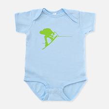 Green Wakeboard Back Spin Infant Bodysuit