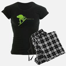 Green Wakeboard Back Spin Pajamas