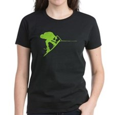 Green Wakeboard Back Spin Tee
