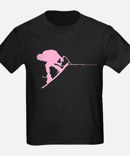 Pink Wakeboard Back Spin T