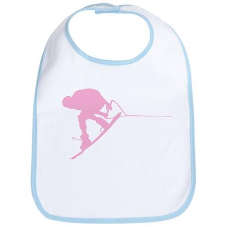 Pink Wakeboard Back Spin Bib