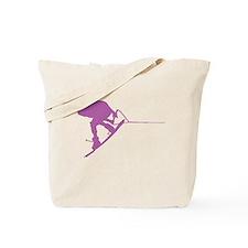 Pruple Wakeboard Back Spin Tote Bag