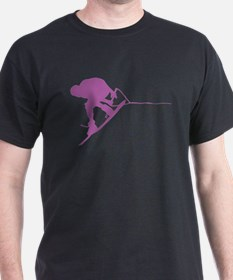 Pruple Wakeboard Back Spin T-Shirt