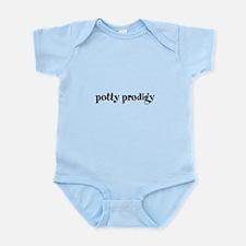 potty prodigy bold Infant Bodysuit