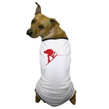 Red Wakeboard Back Spin Dog T-Shirt