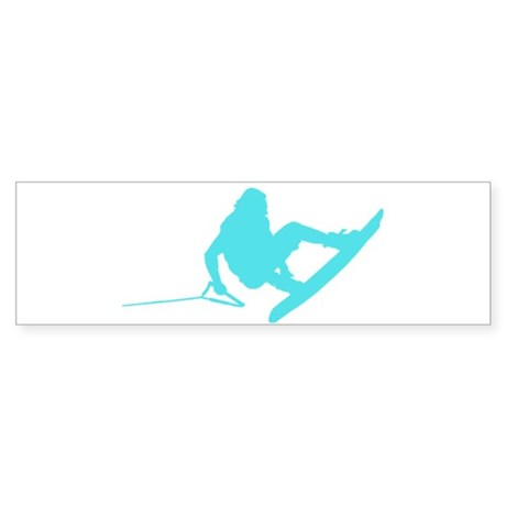 Blue Wakeboard 360 Handle Pas Sticker (Bumper)