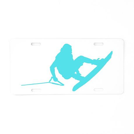 Blue Wakeboard 360 Handle Pas Aluminum License Pla