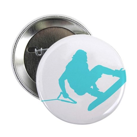 "Blue Wakeboard 360 Handle Pas 2.25"" Button"