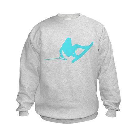 Blue Wakeboard 360 Handle Pas Kids Sweatshirt