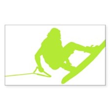 Green Wakeboard 360 Handle Pa Decal