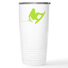 Green Wakeboard 360 Handle Pa Travel Mug
