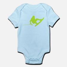 Green Wakeboard 360 Handle Pa Infant Bodysuit